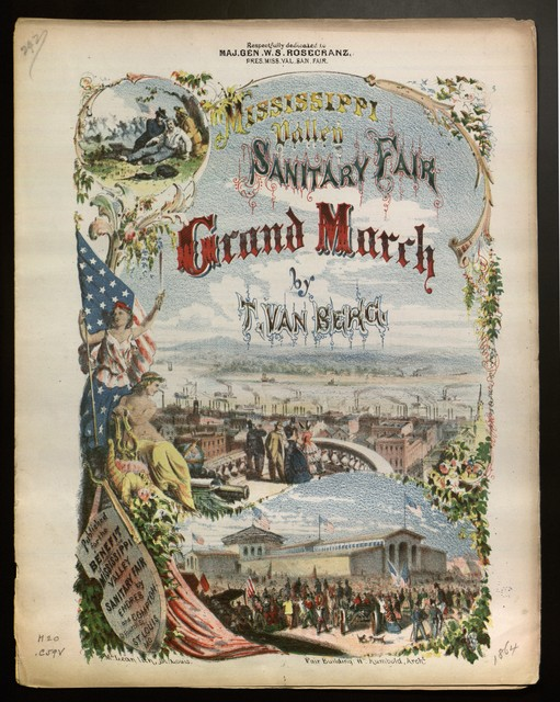 Mississippi valley sanitary fair grand march