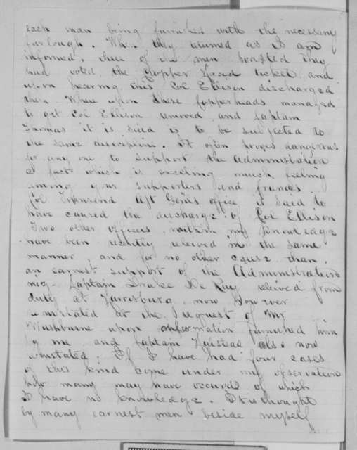 Norman Wiard to Abraham Lincoln, Monday, October 17, 1864  (Soldier vote in Penn. election)