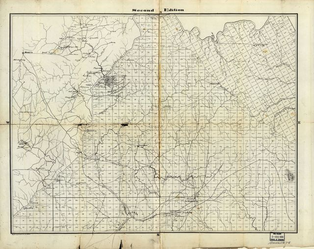 [Part of DeKalb and Fulton County, Georgia : compiled for the use of the Topographical Engineers from the original land map and surveys of DeKalb County /