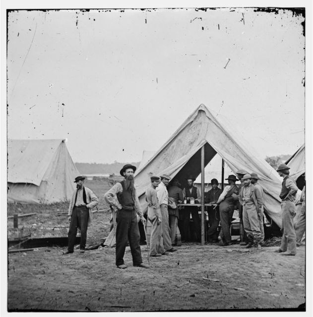 [Petersburg, Va. Sutler's tent, 2d Division, 9th Corps]