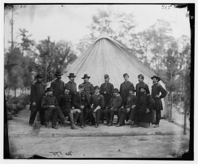 Petersburg, Virginia. Surgeons of 2d Division