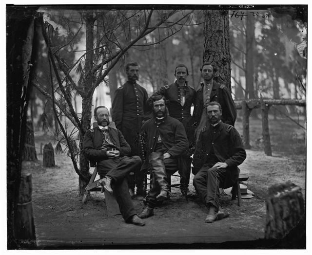 Petersburg, Virginia. Surgeons of 4th Division, 9th Army Corps