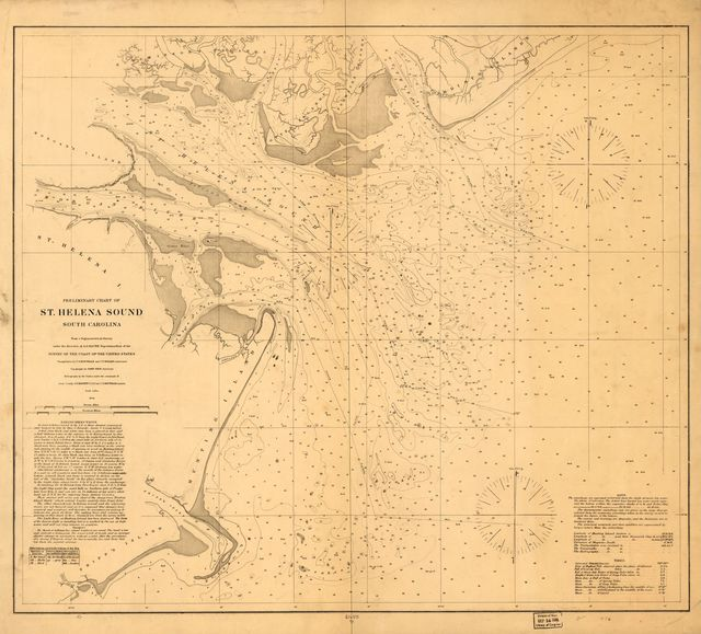 Preliminary chart of St. Helena Sound, South Carolina