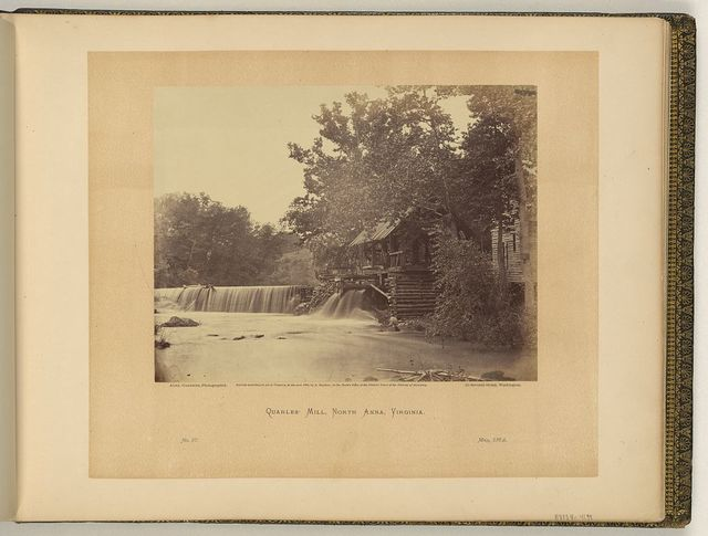 Quarles' Mill, North Anna, Virginia / Alex. Gardner, photographer.