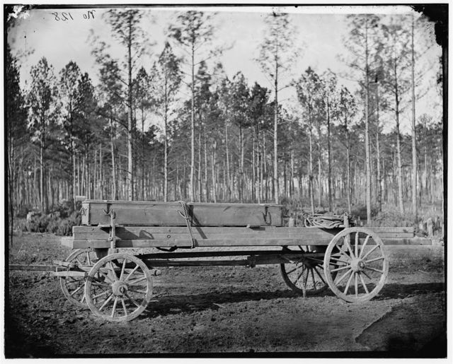 [Rappahannock Station, Va. Pontoon wagon, 50th New York Engineers]