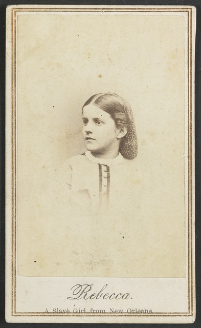 Rebecca, a slave girl from New Orleans / Chas. Paxson, photographer, N.Y.