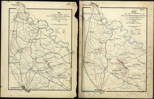Report of the camps, marches & engagements, of the Second Corps, A.N.V., and of the Army of the Valley Dist. of the Department of Northern VA., during the campaign of 1864 : [Virginia] /