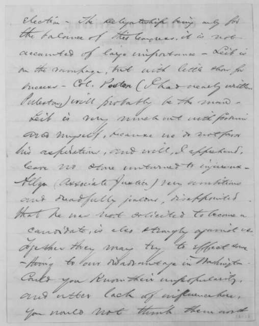 Richard C. McCormick to John G. Nicolay, Friday, June 10, 1864  (Affairs in Arizona Territory)