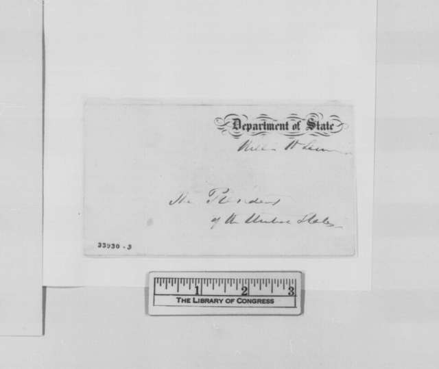 Richard M. Blatchford to William H. Seward, June 22, 1864  (Appointment)