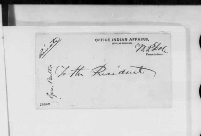 Richard M. Corwine to William P. Dole, Friday, August 26, 1864  (Presidential politics)
