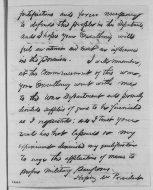 Samuel R. Curtis to Abraham Lincoln, Sunday, February 28, 1864  (Report on conditions in the Indian Territory)
