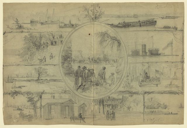 [Scenes associated with Dutch Gap Canal]