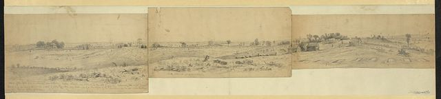 Sketch of the forts and breastworks near Petersburg