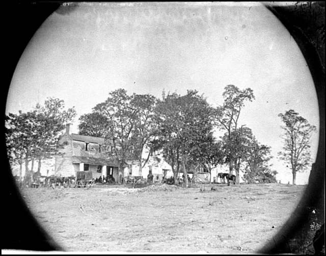 [Spotsylvania Court House, Va., vicinity. Beverly house, headquarters of Gen. Gouverneur K. Warren, 5th Corps]