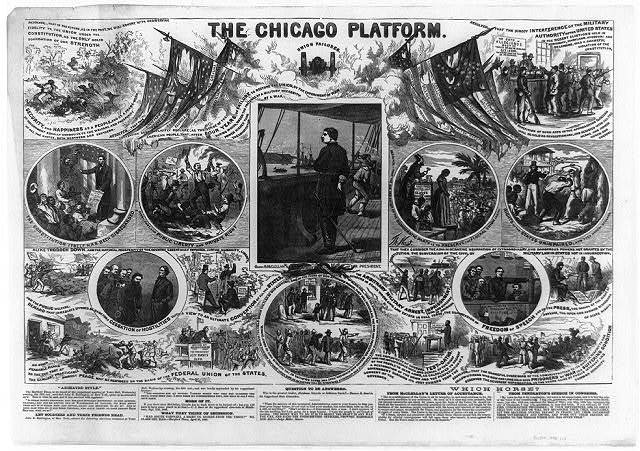 The Chicago platform / Th. Nast.