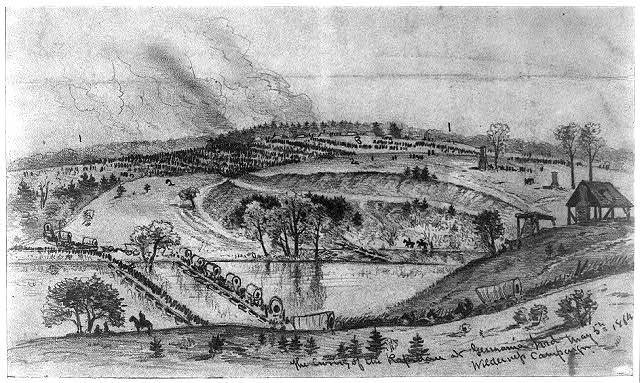 The crossing of the Rapidan at Germanna Ford, May 5, 1864--Wilderness campaign