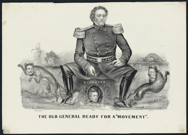 """The old general ready for a """"movement."""""""
