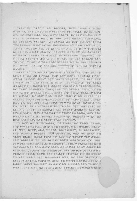 The President's proclamation of pardon and amnesty in the Cherokee language. Translated and printed at Fort Gibson, C. N. by order of Colonel Wm. Phillips. Commanding First brigade, army of the frontier. [n.p. 1864?].