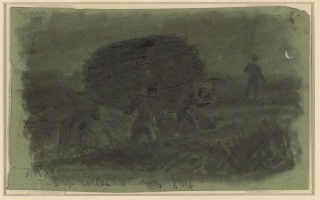 The sap roller. Petersburg 1864