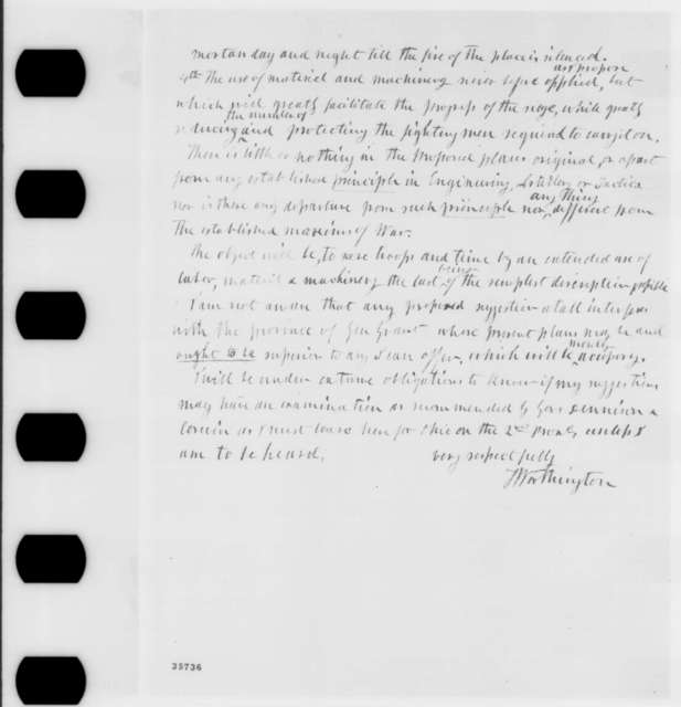 Thomas Worthington to Abraham Lincoln, Tuesday, August 30, 1864  (Plan to end rebellion; with Draft for Presidential Proclamation)