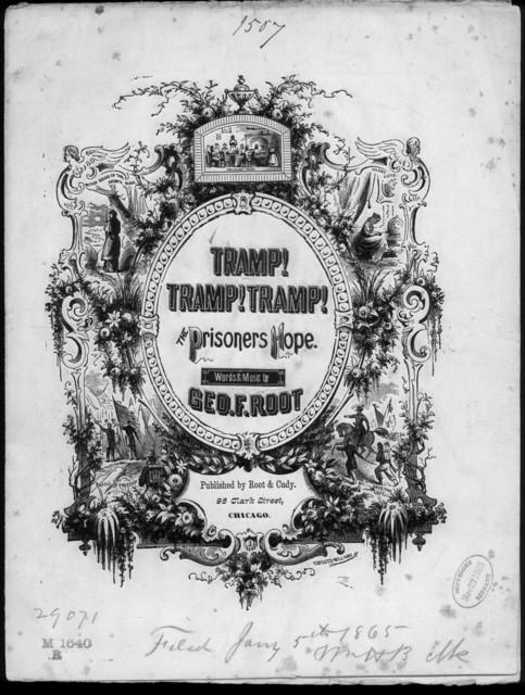 Tramp! tramp! tramp! (the prisoner's hope)