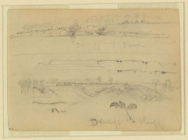 [Two scenes: Chaffin's Farm and Drewry's Bluff, Virginia]