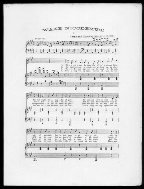 Wake Nicodemus!