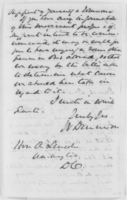 William Dennison to Abraham Lincoln, Friday, September 02, 1864  (Politics)