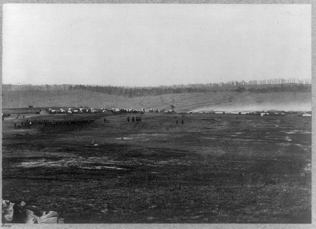 Winter quarters of a Cavalry Regiment in Army of Potomac near Brandy Station, Va., 1864