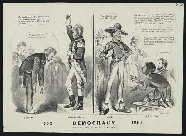 Democracy 1832. 1864.