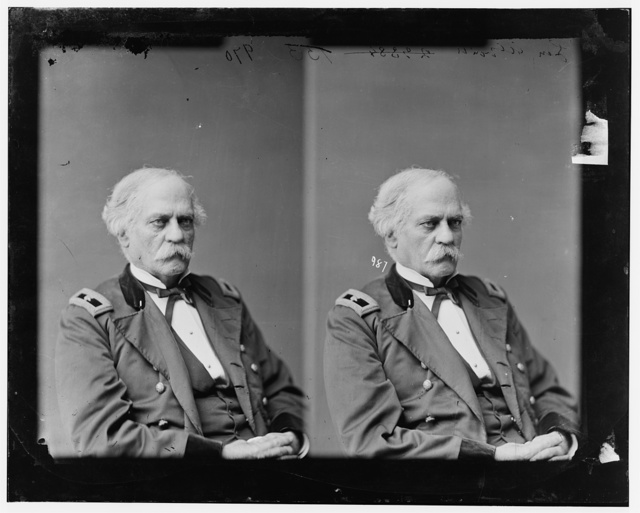 Alvord, General Benjamin of Vermont, U.S.A. Commanded District of Oregon throughout war