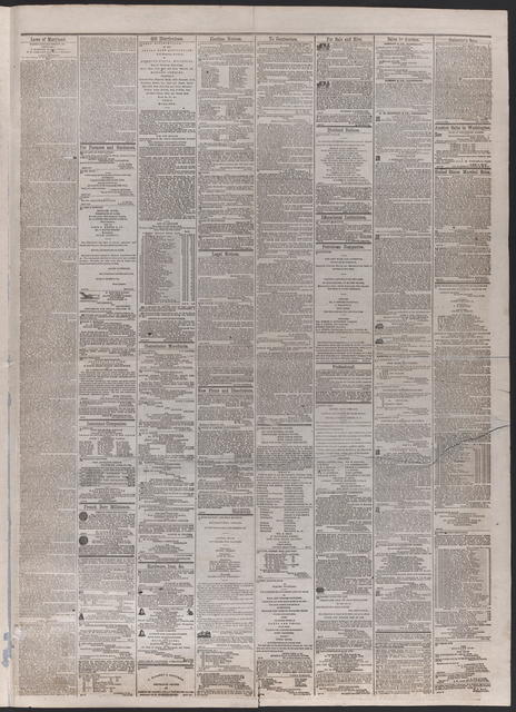 American and Commercial Advertiser, [newspaper]. April 18th, 1865.
