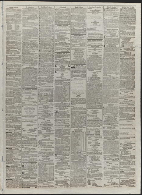 American and Commercial Advertiser, [newspaper]. April 24th, 1865.