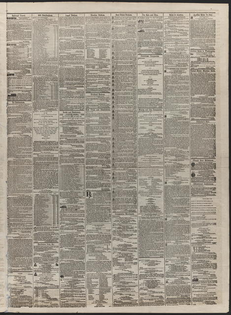 American and Commercial Advertiser, [newspaper]. April 25th, 1865.