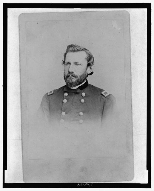 [Brig. Gen. Albert J. Myer, Chief Signal Officer, USA, head-and-shoulders portrait, in uniform]