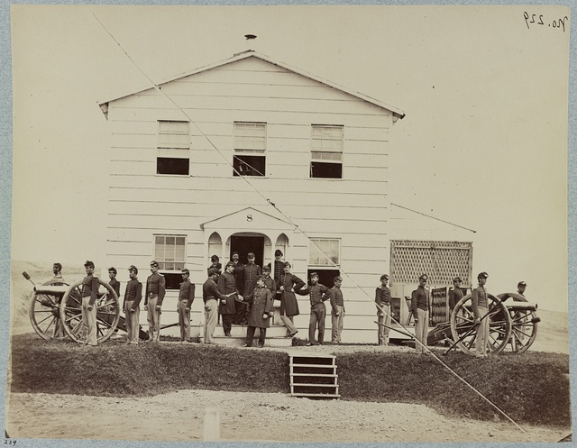 Bv't. Brig. General J. A. Hall and staff