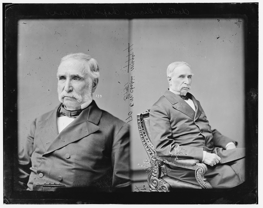 Chapin, Hon. Chester Wm. of Mass. (early mail contractor, running post coaches and steamboats) (Pres of Boston & Albany R.R.)