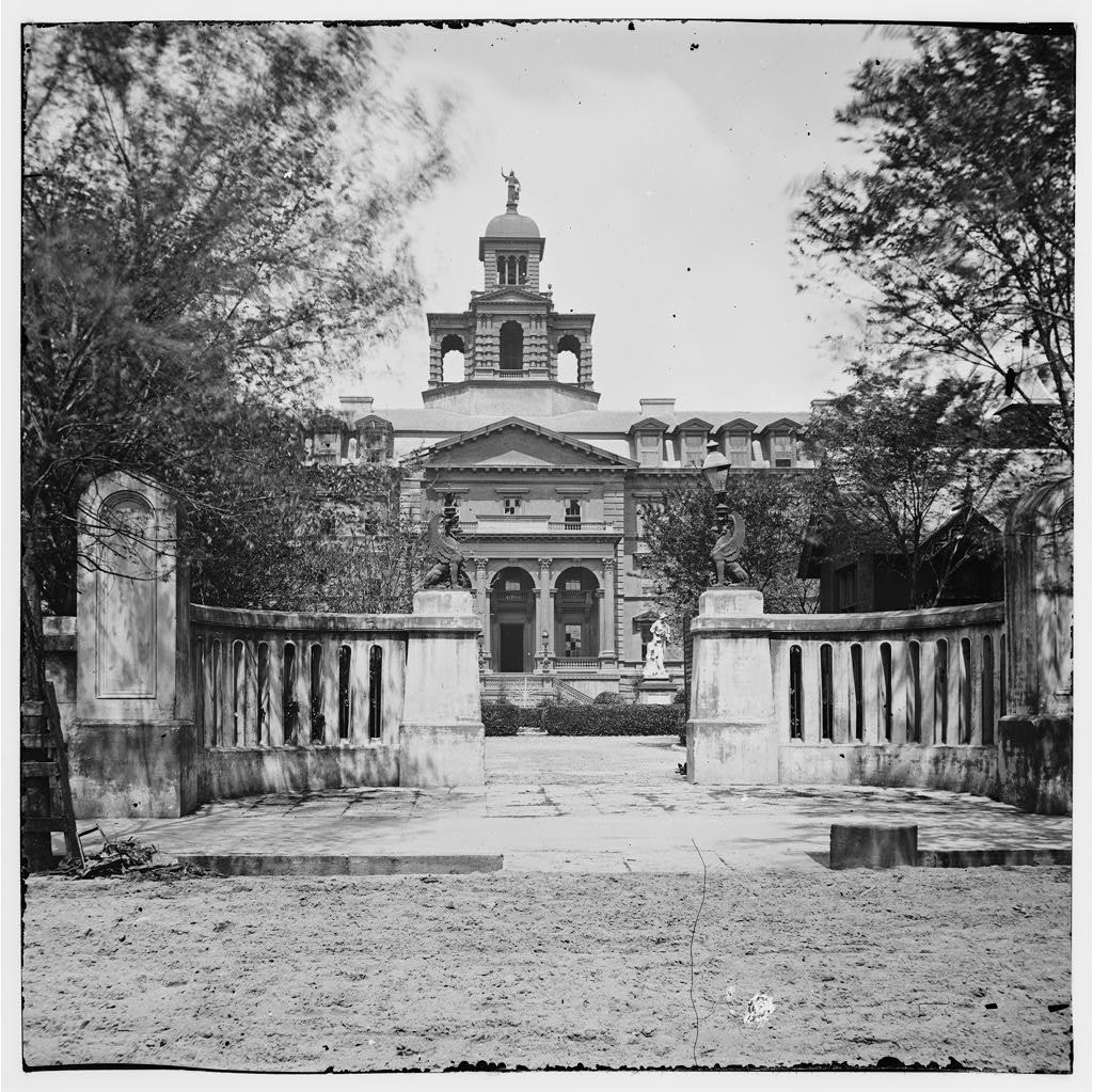 Charleston, South Carolina. The Orphan Asylum (160 Calhoun Street)