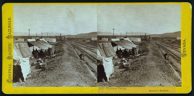 Chinese camp, Brown's Station