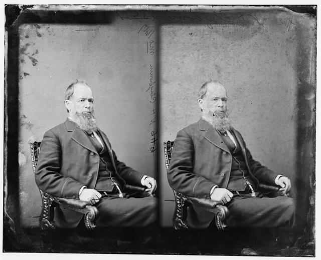 Claiborne, Hon. Nathanial Herbert, Rep of VA