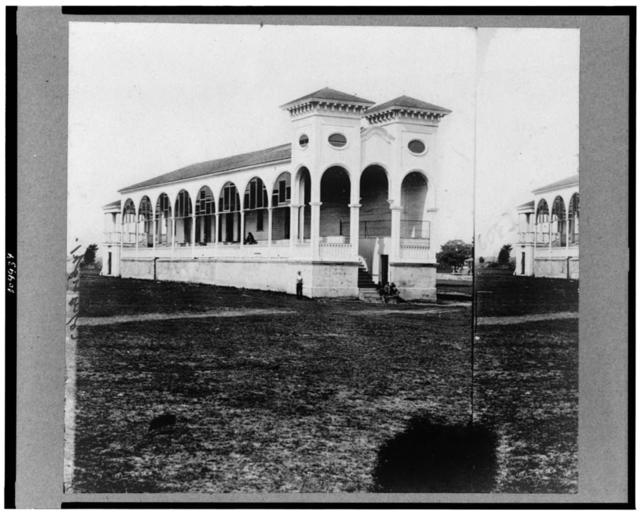 [Club house race course, where Federal officers were confined, Charleston, S.C., April 1865]