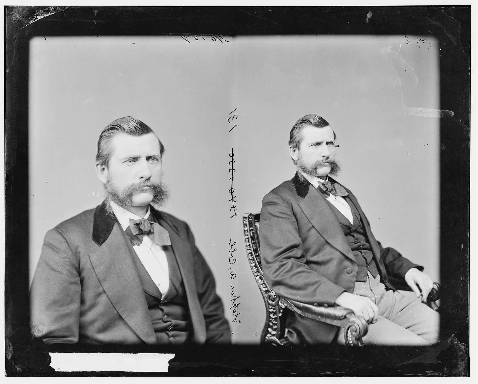 Cobb, Hon. Stephen Alonzo of Kansas, Capt. and Commissary Sergeant of Volunteers on May 18, 1864