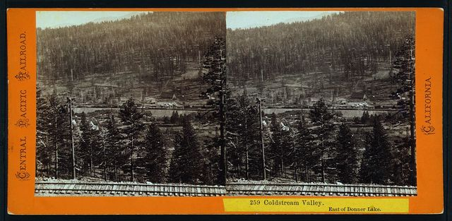 Coldstream Valley. East of Donner Lake