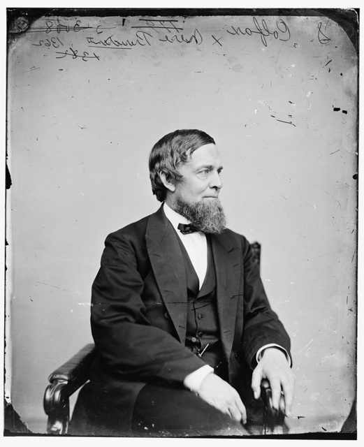 Colfax, Hon. Schuyler of IND. (Speaker of H of R. 38, 39 & 40th Congress) (Vice Pres of U.S. Grant Admin.)