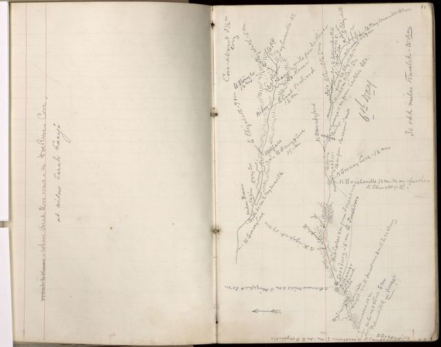 Complete map of the march of the 1st Brigade, 1st Cavalry Divn., Dept. of Cumberland on the Stoneman expedition through Tenn., Va., N.C., S.C., Geo., & Ala., March to June 1865 /