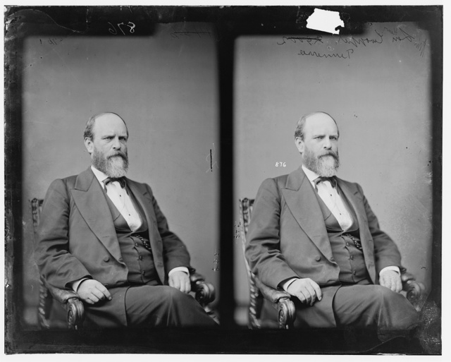 Cooper, Hon. Henry of Tenn. Delegate to Democratic National Convention at Baltimore in 1860. (Killed by bandits in Tierra Blanca, Guadalupey, Calvo, Mexico. Feb. 4, 1884)