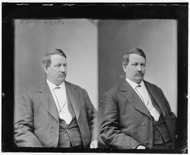 Cravens, Hon. Jordan Edgar of Arkansas Entered the Confederate Army in 1861 as a private, Col. in 1862