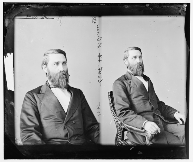 Crounse, Hon. Lorenzo of Neb. Rep. Raised a battery of light artillery in 1861 and entered the army as captain