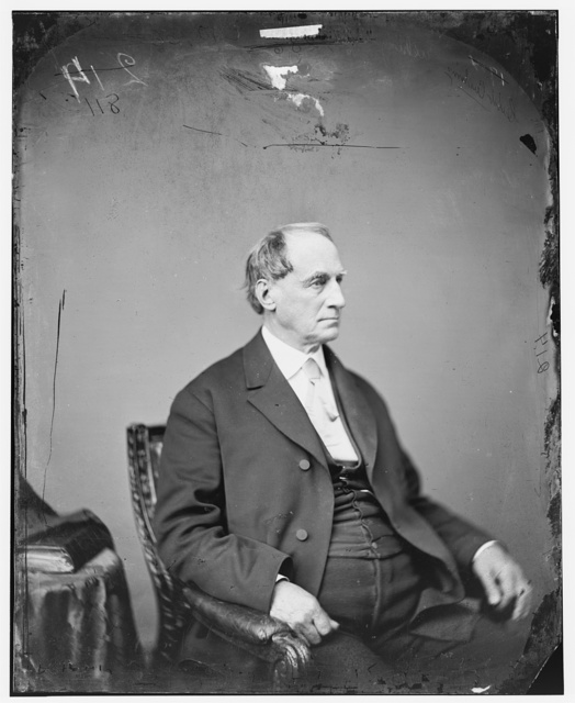 Cushing, Hon. Caleb of Mass. (served 4 days in the Supreme Court. 1874.)