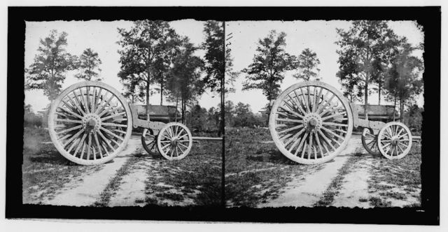 Drewry's Bluff, Virginia (vicinity). Sling for heavy artillery